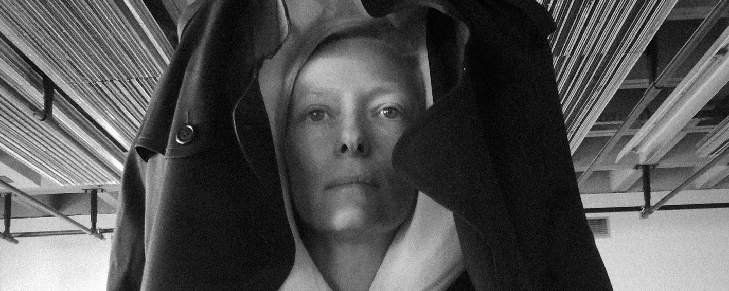 tilda swinton's parisian performance art