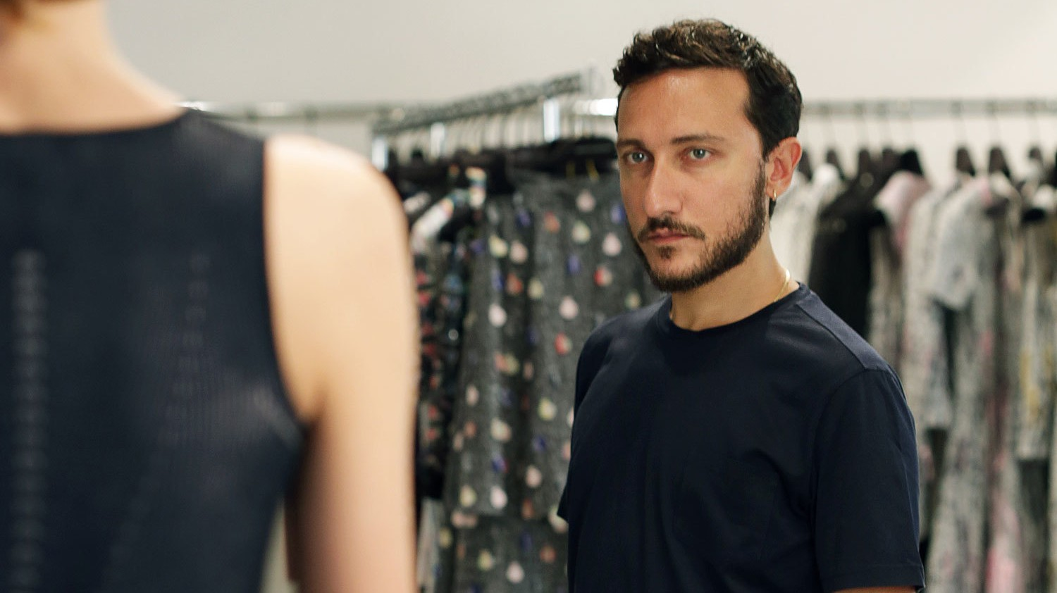 ​marco de vincenzo, the face of a new generation of italian fashion