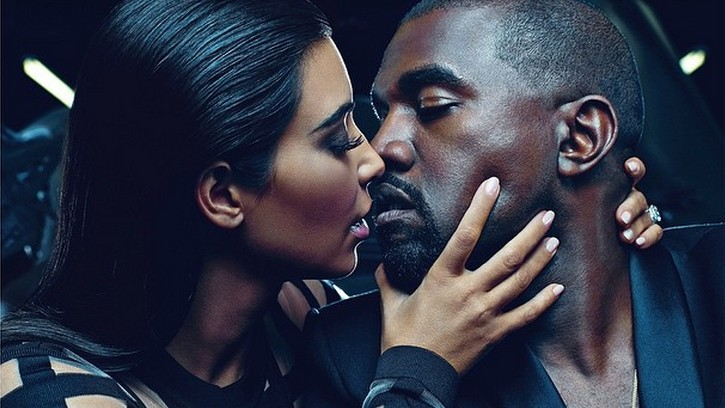 uh huh honey, kim kardashian and kanye west are the new faces of balmain