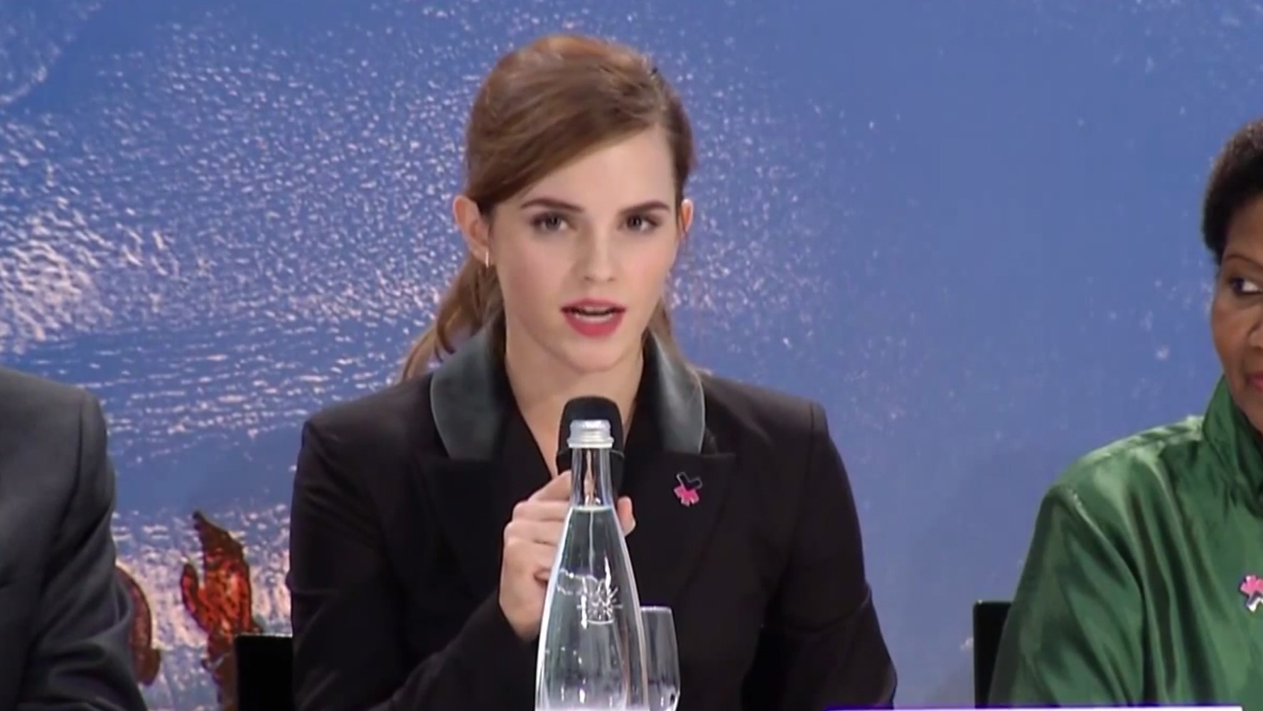 ​emma watson takes #heforshe campaign to the next level