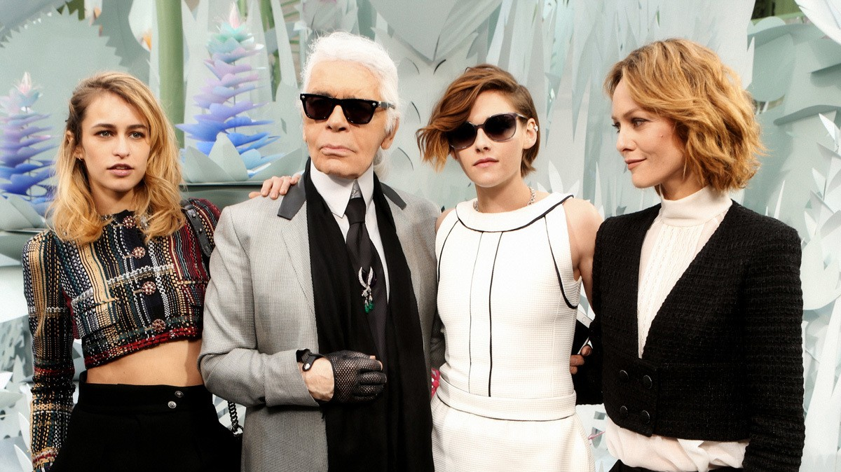 ​kristen stewart, vanessa paradis and alice dellal announced as new chanel faces
