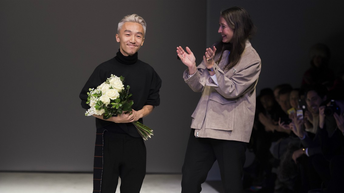 ximon lee is the first menswear designer to win the h&m design award