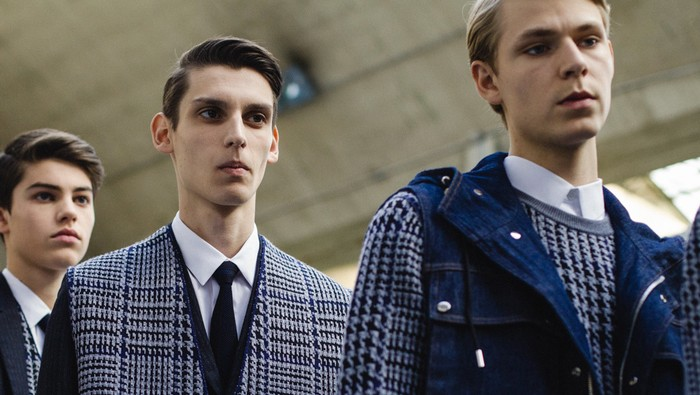 dior homme leads a new theatrical era of men's shows