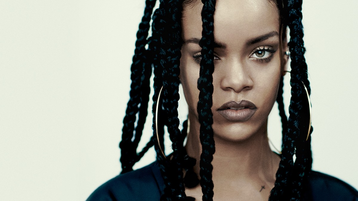 rihanna rocks the cover of i-D's music issue!
