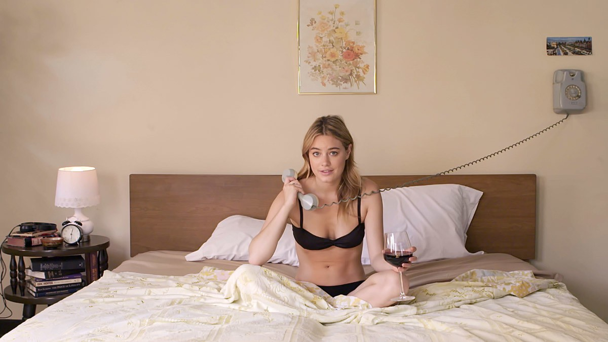 model mother tongue: camille rowe