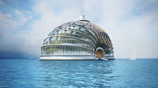 Floating Utopias for the Age of Rising Seas