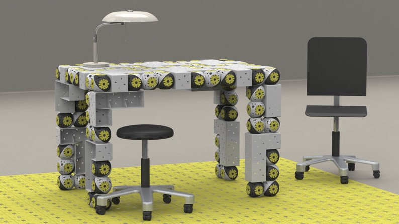 Self Assemble Furniture self-assembling transformer furniture robots put ikea to shame
