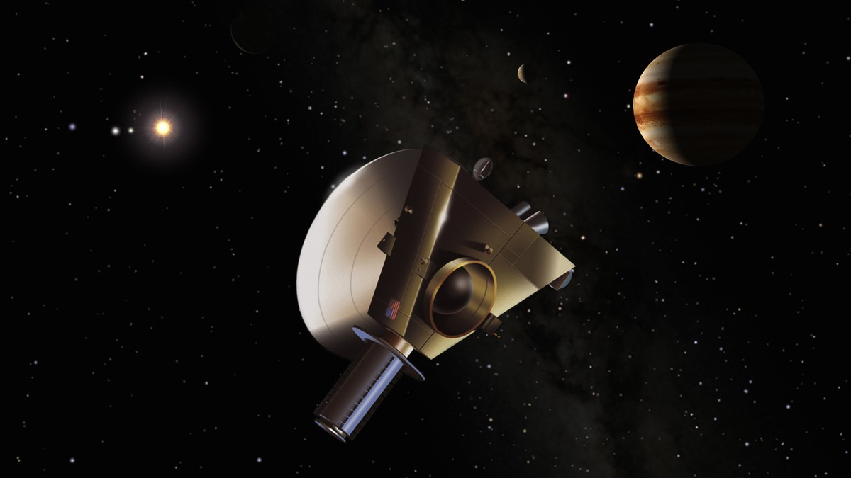 space probe to pluto - HD 1708×961