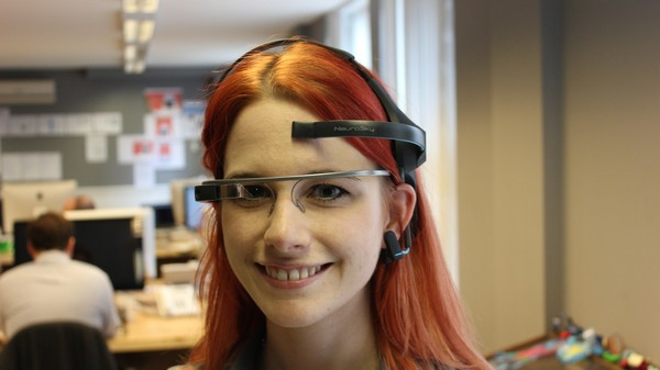 I Controlled Google Glass With My Mind