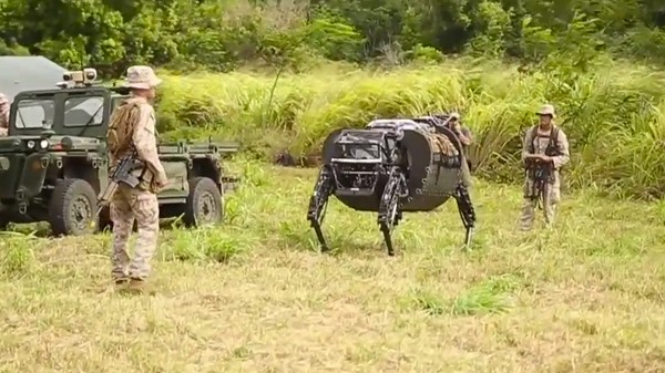 The Robot Horse Has Joined the Marines