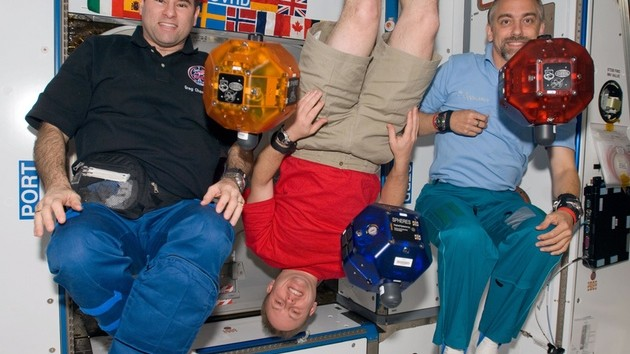 The Space Station's Free-Floating Robot Orbs Have Google Phones Now