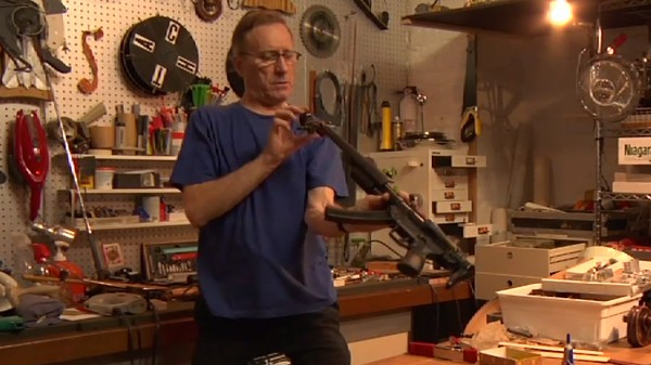 The Fine Art of Turning (Toy) Weapons Into Guitars