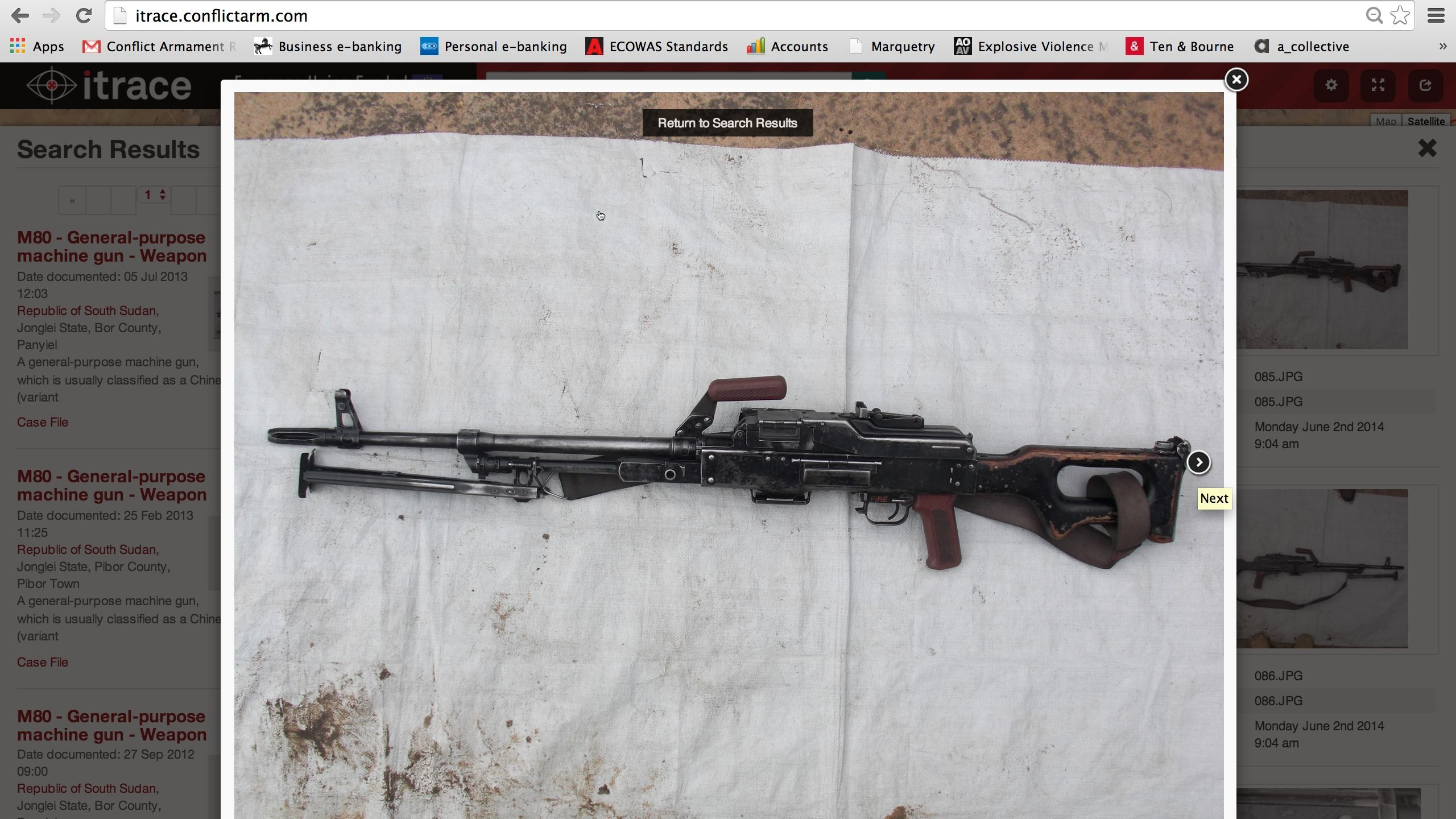 Map the Global Arms Trade With This New Weapons-Tracking Site