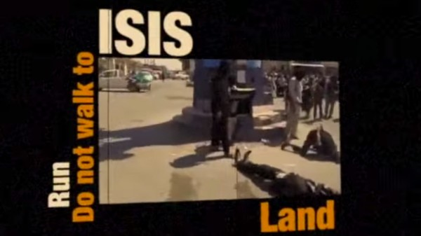 Here's a Very Low-Budget Anti-ISIS Video, Courtesy the US State Dept.