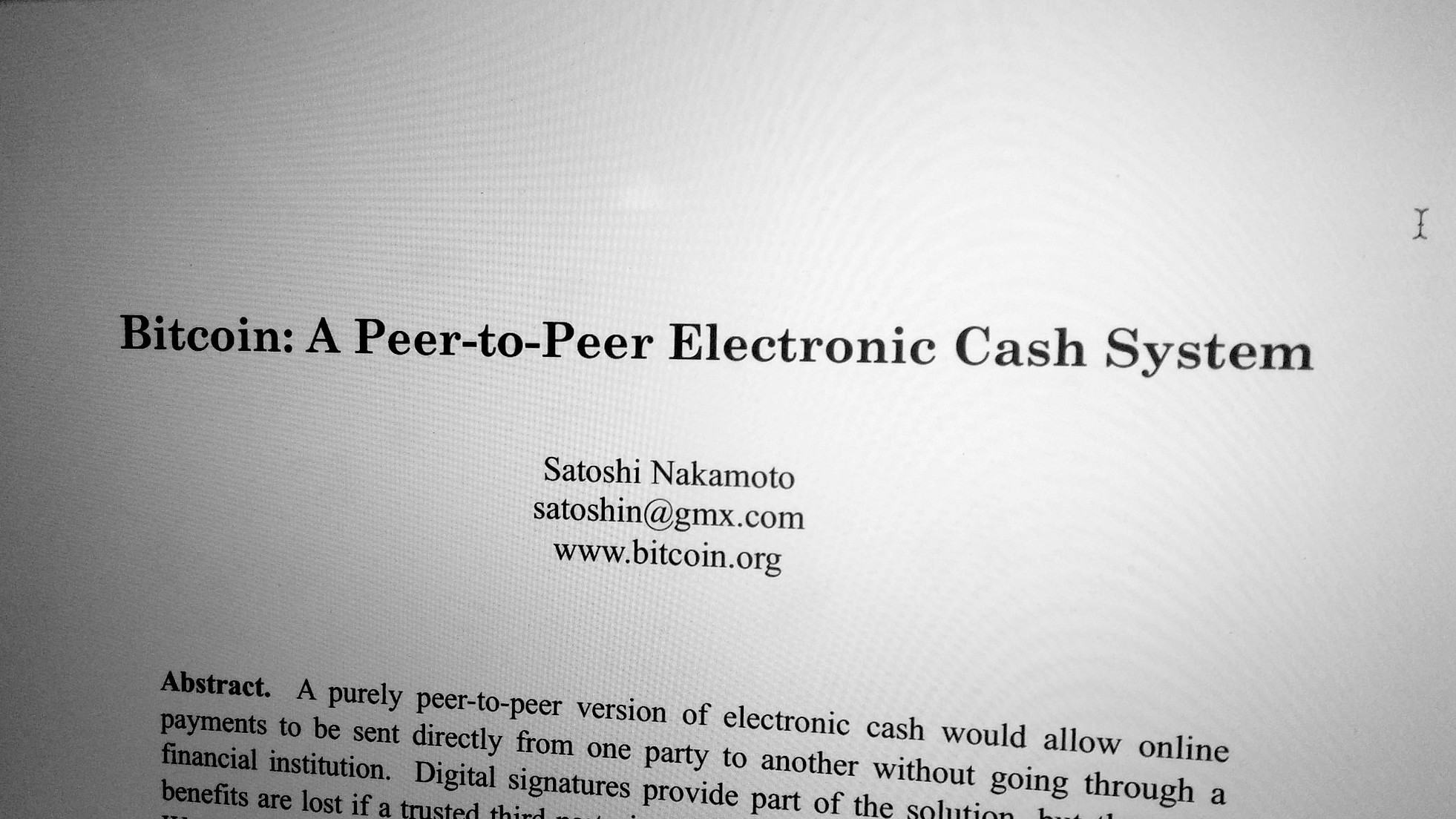The Satoshi Nakamoto Email Hacker Says He's Negotiating with the Bitcoin Founder