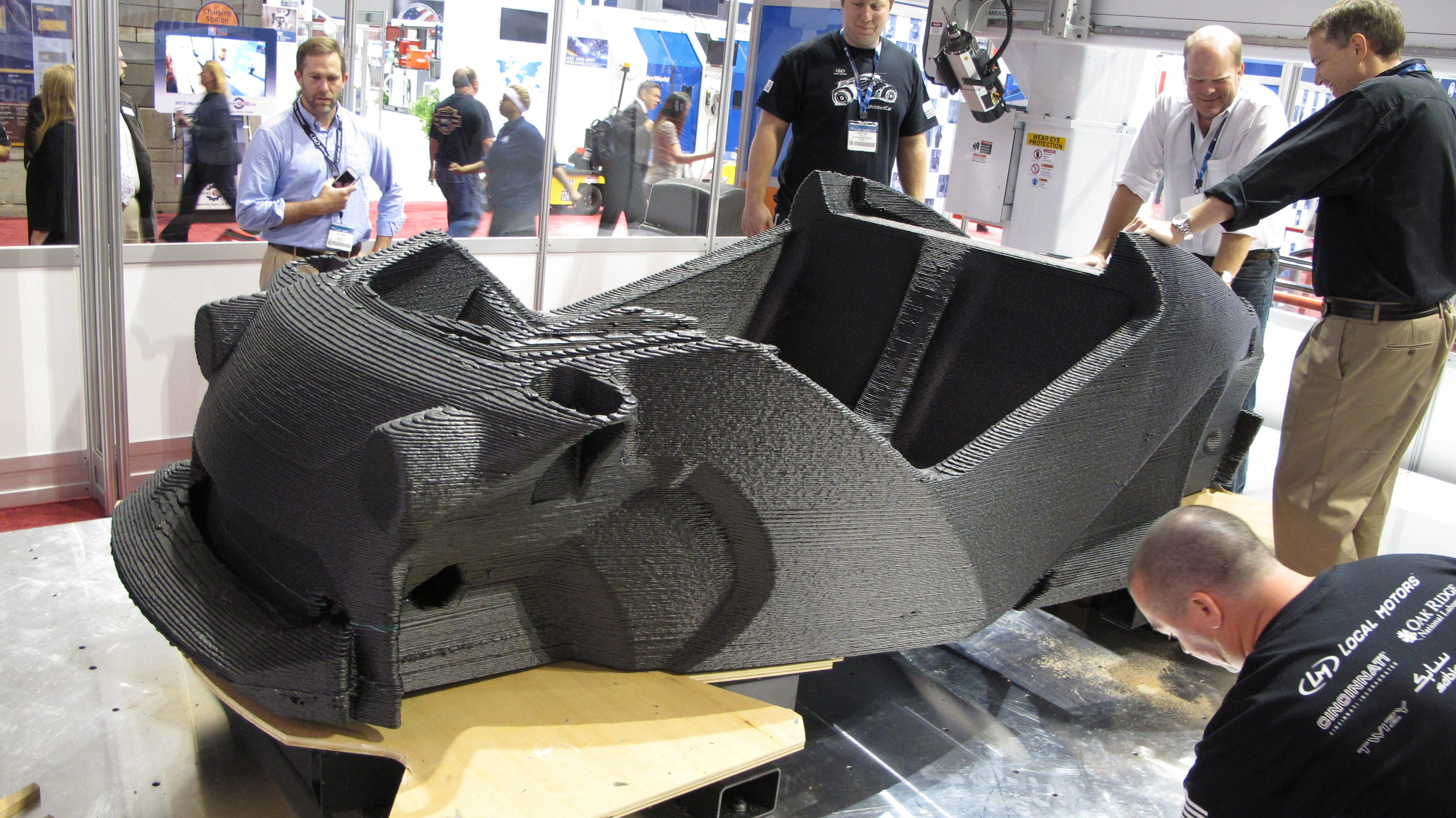 This (Mostly) 3D-Printed Car Is About to Take Its First Drive