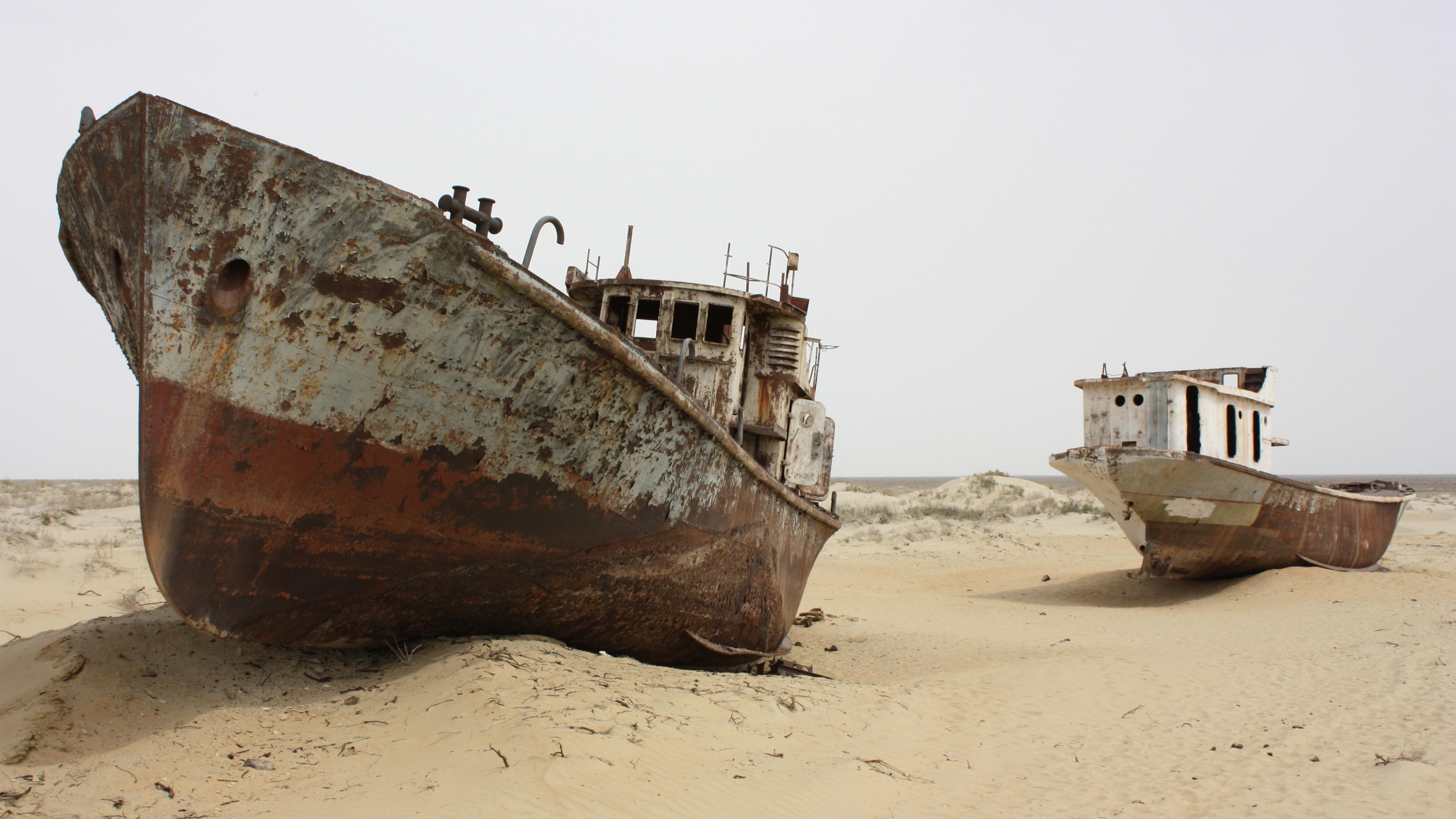 Ninety Percent of the World's Fourth-Largest Lake Has Gone Dry