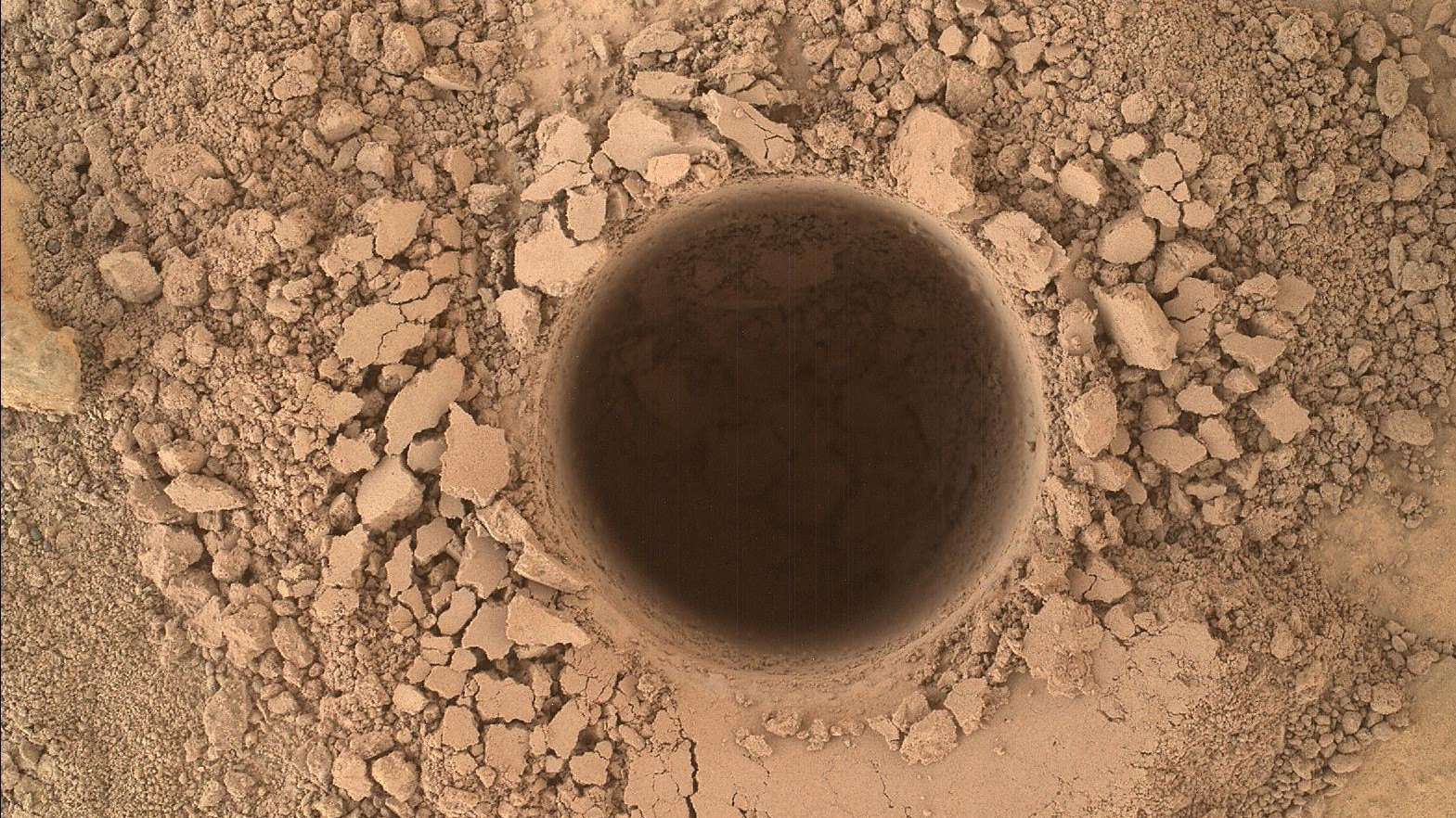 The Curiosity Rover Has Begun Drilling Into Its Most Interesting Target Yet