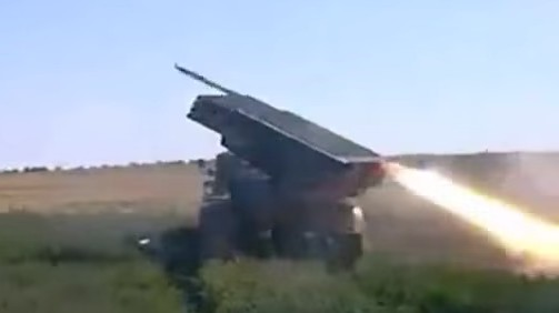 This Is What a Ukrainian Rocket Storm Looks Like