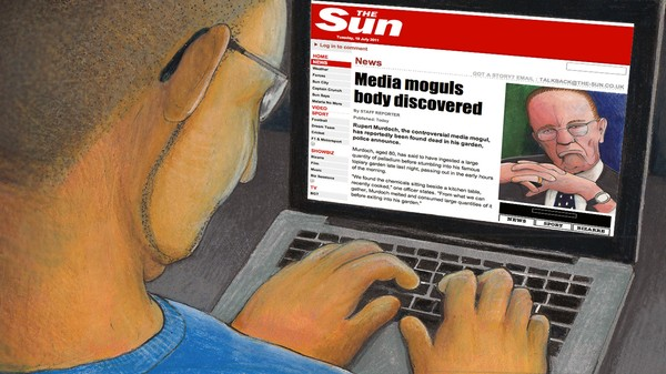 ​How an FBI Informant Ordered the Hack of British Tabloid 'The Sun'