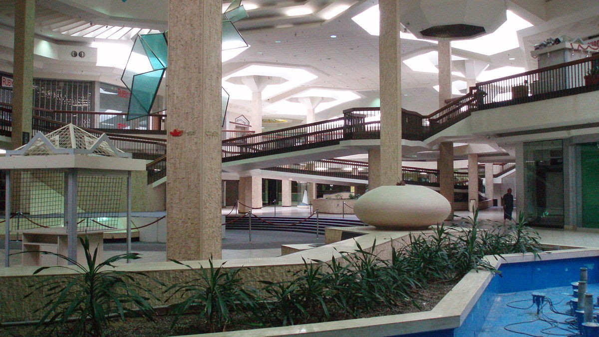 The Internet Is Eating America's Abandoned Shopping Malls