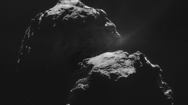 This Is What a Comet Sounds Like