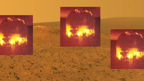 Were Ancient Martians Murdered by Nuclear Bomb-Dropping Aliens? An Investigation