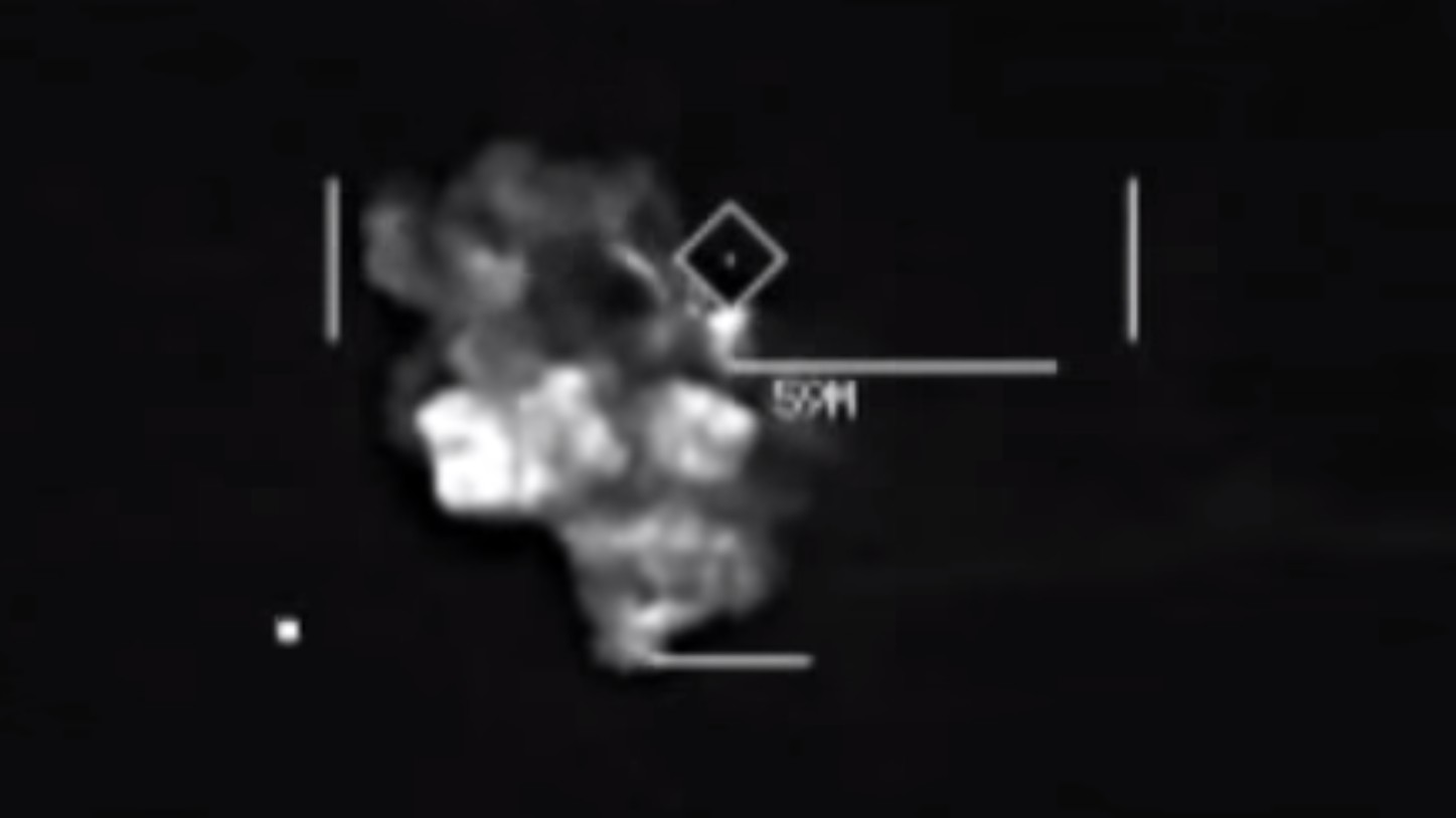 This Is What American Airstrikes on ISIS Look Like