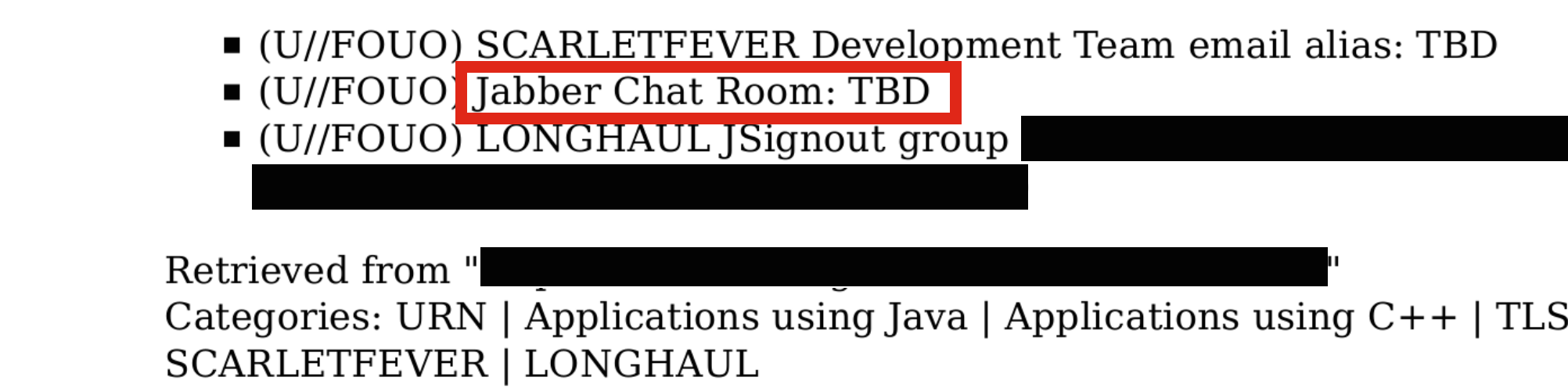 Nsa chat room