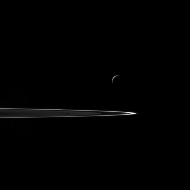This May Be the Closest Look We Get of Saturn's Moon Enceladus for Decades
