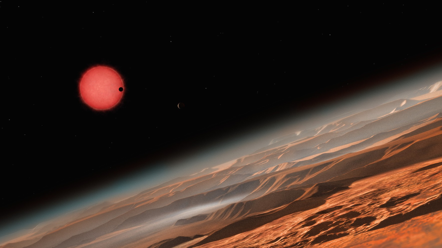 three potentially habitable planets have been found in our cosmic