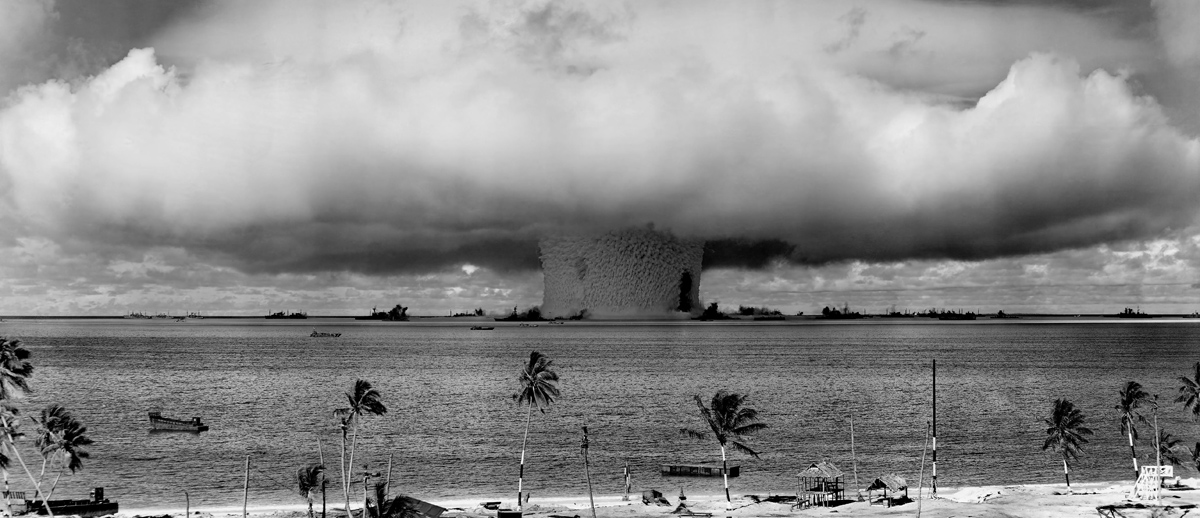 Bikini atoll nuclear test, Sex movie dome