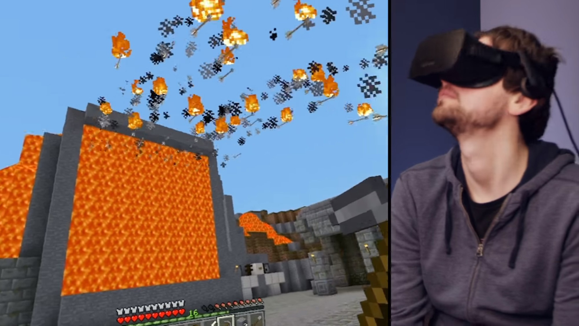 Minecraft' VR Is the Best Game on the Oculus Rift, But