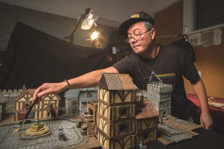 Meet the Man Who Raised Millions Crafting D&D Dungeons