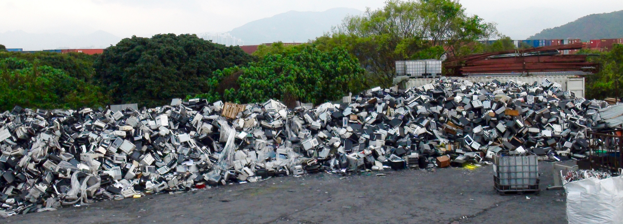 A Shocking Amount Of E Waste Recycling Is Complete Sham Motherboard Wiring Money From Usa