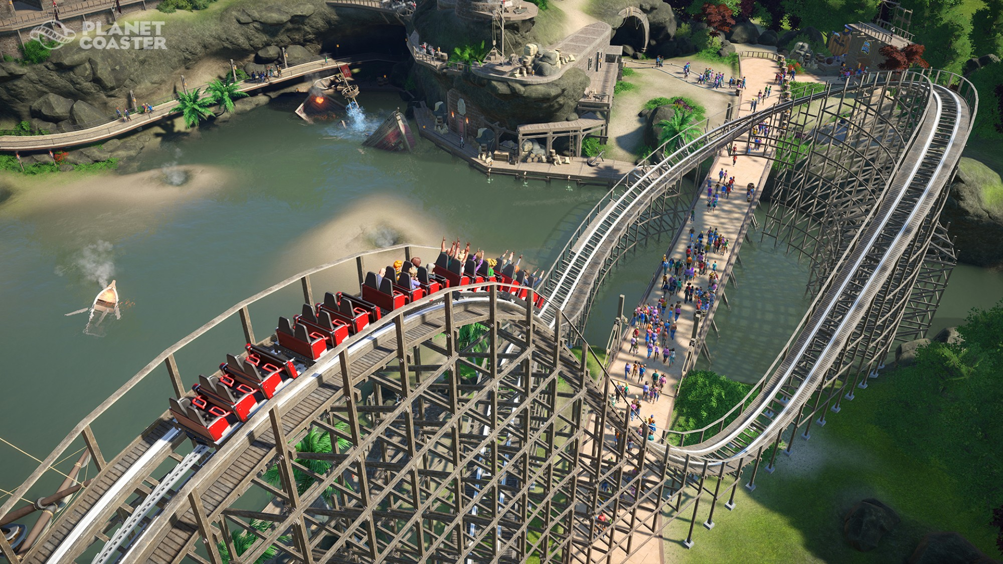 This Architect Has Recreated 30 Real World Coasters in 'Planet