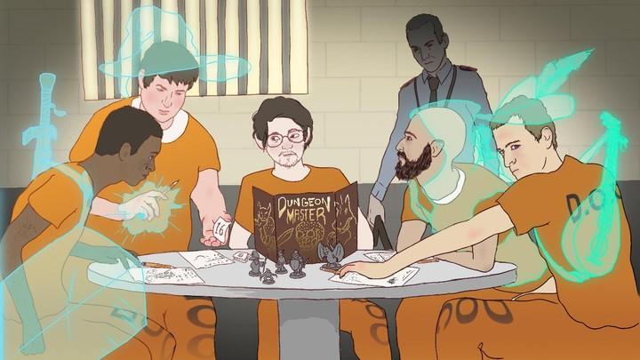 Giocare a Dungeons & Dragons in un carcere di massima sicurezza