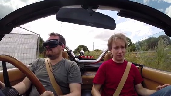 With Drones, You Can Drive a Car in Third-Person Just Like a Video Game