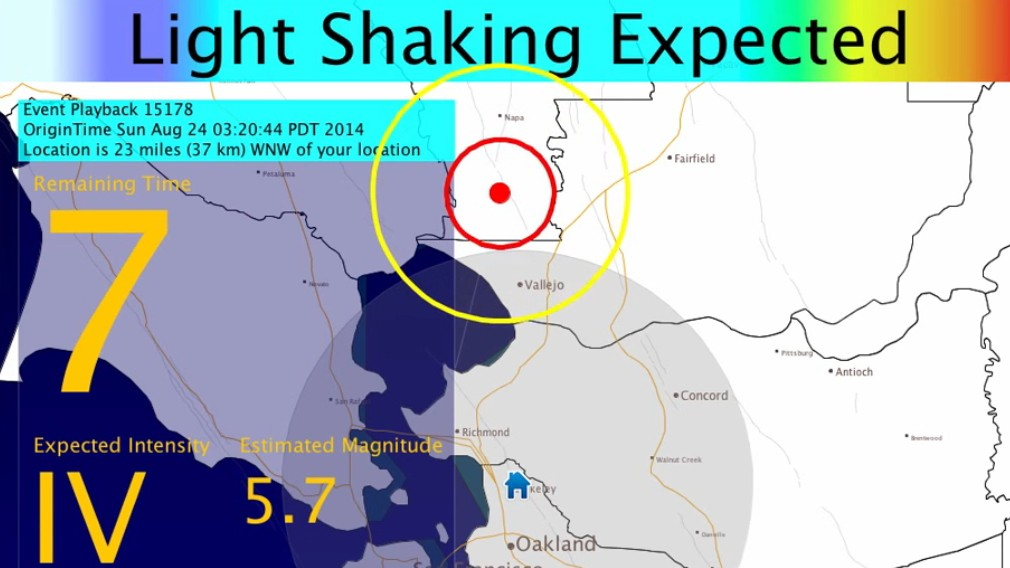 Berkeley's New Early Warning System Detected SF's Quake 10 Seconds Before It Hit