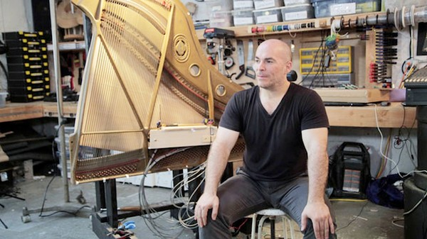 How to Build a Magnetized Piano Harp