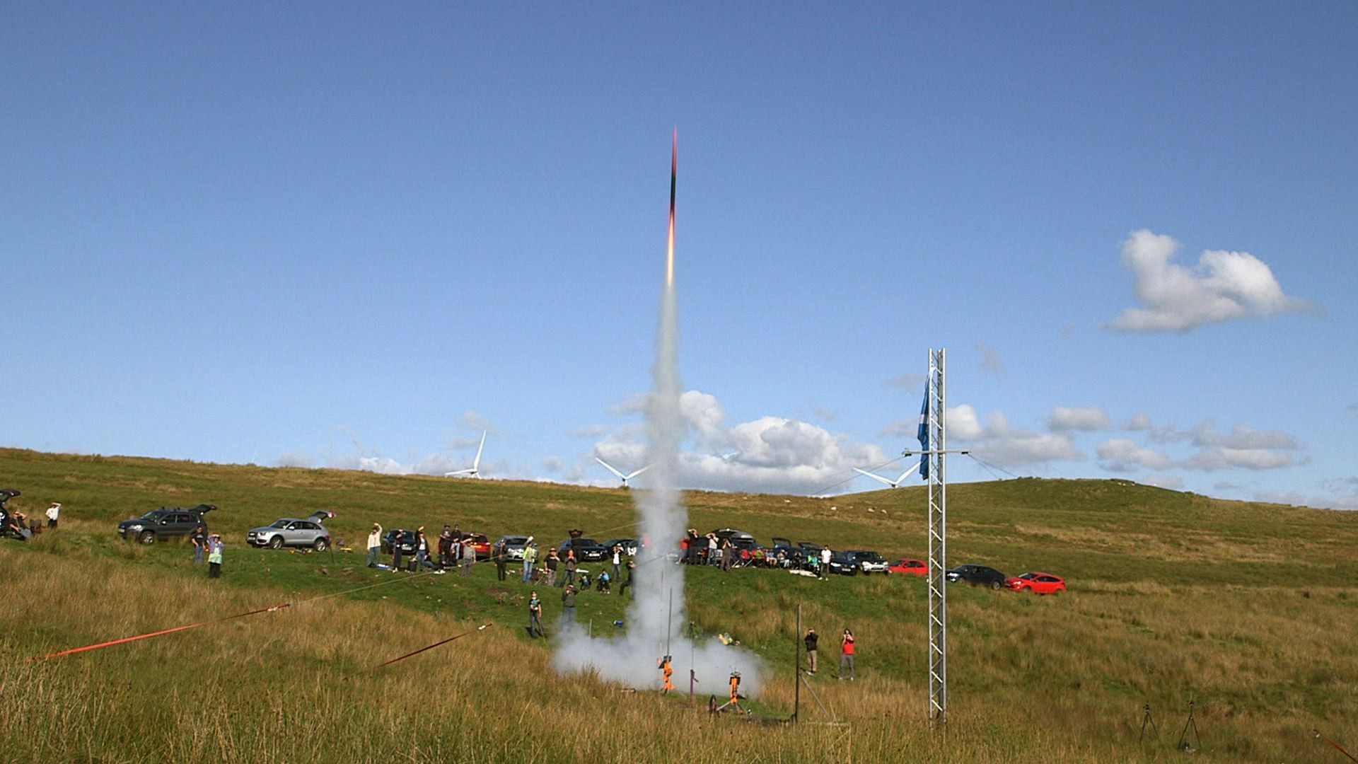 Meet Scotland's DIY Rocketeers