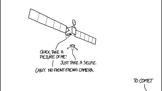 De XKCD-strip over de Rosetta-landing is beter dan de landing zelf
