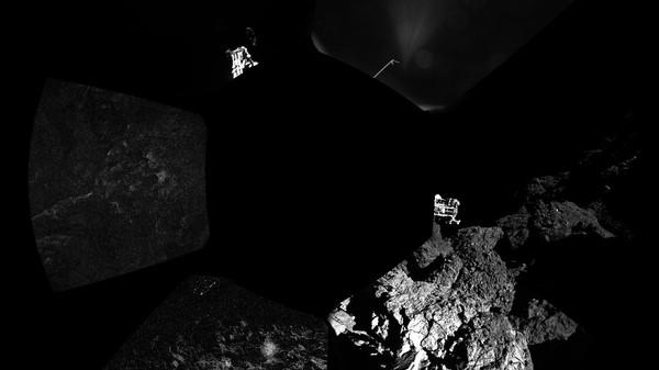 The Philae Lander Has Gone Silent