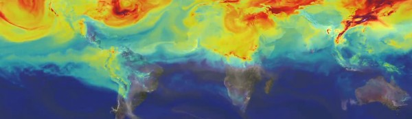 Watch Earth's Yearly Carbon Cycle in Just Three Minutes