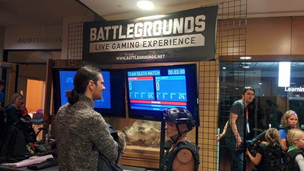 Battlegrounds Is the Laser Tag of the Future