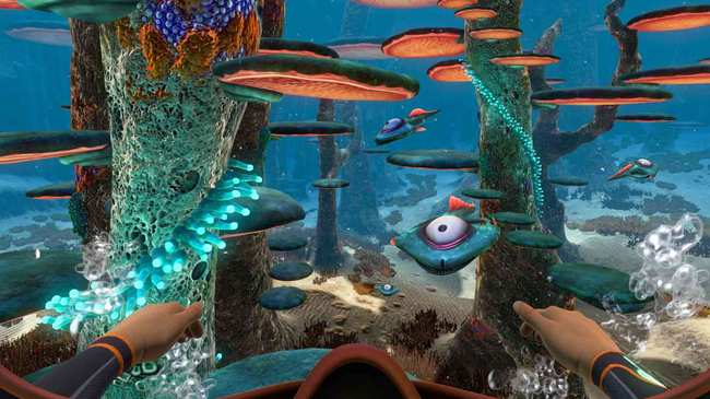 there aren t many underwater games but subnautica proves that s a