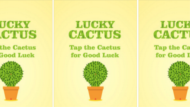 People Are Paying 10 For An Where You Tap A Cactus Luck