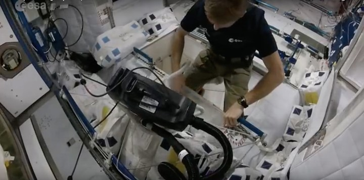 How Astronauts Keep the ISS from Becoming a Revolting Orbital Stink Bomb