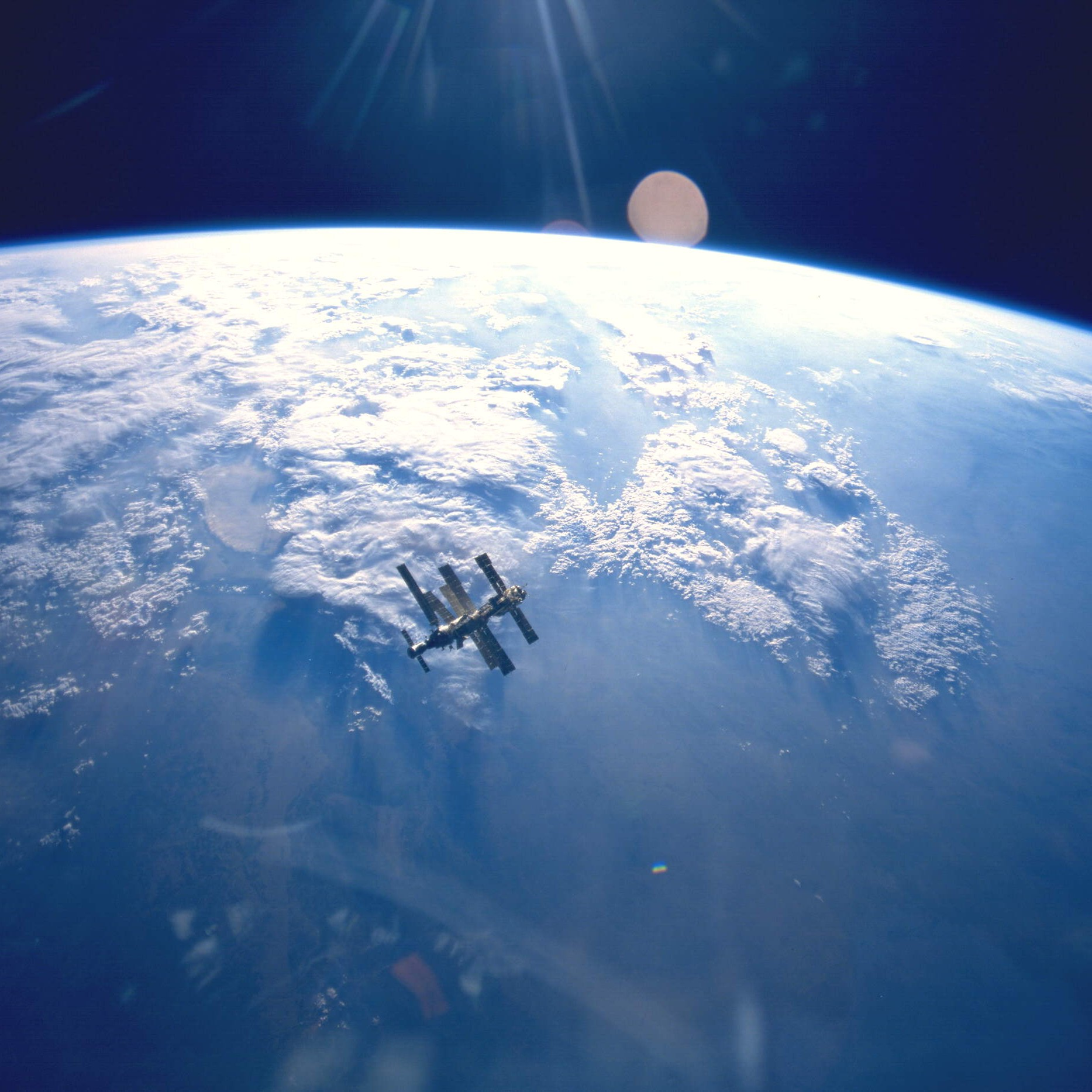 the mir space station was a marvel a clusterfuck and an underdog