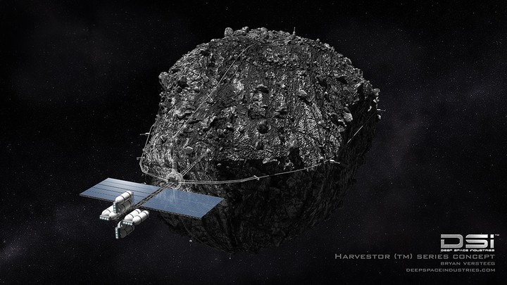How to Start an Asteroid Mining Company Without a Mine